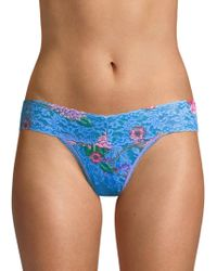 Hanky Panky - Janis Low-rise Thong - Lyst
