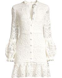 Alexis - Liliyan Lace Mini Dress - Lyst