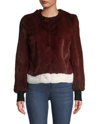 Saks Fifth Avenue - Collection Faux Fur Plush Jacket - Lyst