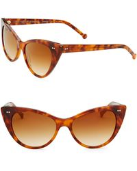 Colors In Optics - Audrey Cat Eye Sunglasses - Lyst