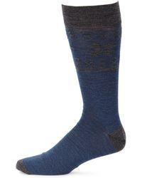 Saks Fifth Avenue - Collection Fairisle Dress Socks - Lyst