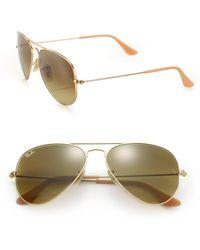 Ray-Ban - Original Aviator Sunglasses - Lyst