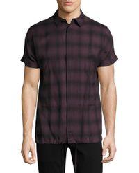 Helmut Lang - Cotton Short Sleeve Shirt - Lyst