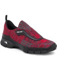 Prada - Slip-on Sneakers - Lyst