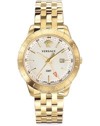 Versace - Glaze Gold Ion-plated Stainless Steel Bracelet Watch - Lyst