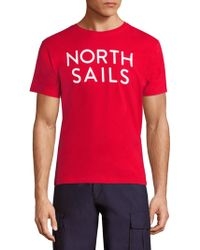 North Sails - Logo Printed Tee - Lyst