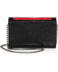 Christian Louboutin - Vanite Small Leather Convertible Clutch - Lyst