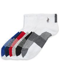 Ralph Lauren - Kid's Three-pack St. James Stripe Sock Set - Lyst
