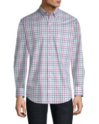 Peter Millar - Crown Ease Arendale Check Shirt - Lyst