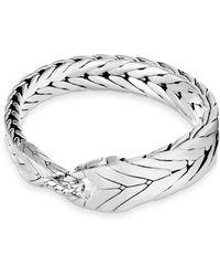 John Hardy - Modern Silver Chain Bracelet - Lyst