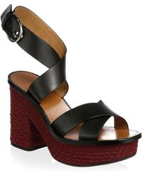 Joie - Tanglee Leather Ankle-strap Sandals - Lyst
