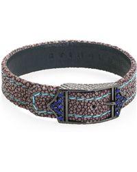 Stinghd - Luxe Stingray Sapphire Bracelet - Lyst