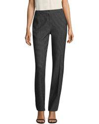 ESCADA | Checked Wool Pants | Lyst