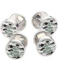 Saks Fifth Avenue - Collection Camouflage Cufflinks - Lyst