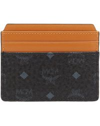 MCM - Claus Coated Canvas Card Case - Lyst