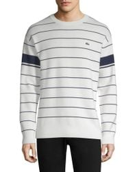 Lacoste - Regular-fit Heritage France Sweatshirt - Lyst