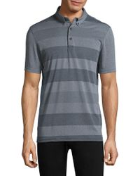 AG Green Label - Stripe Polo - Lyst
