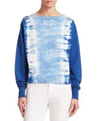 Ralph Lauren Collection Boby Tie-dye Cotton Sweatshirt