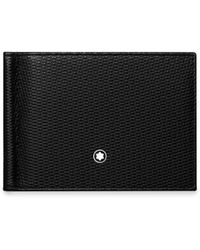 Montblanc - Leather Bifold Card Slots - Lyst