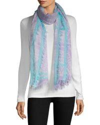 Bajra - Wool & Silk Tie-dye Scarf - Lyst