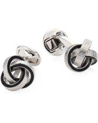 Saks Fifth Avenue | Textured Knot Cufflinks | Lyst