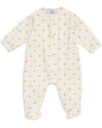 Versace - Baby's All Over Graphic-print Footie - Lyst