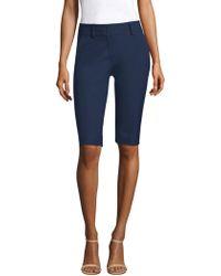 Piazza Sempione - Cotton Bermuda Shorts - Lyst