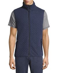 Surfside Supply - Quilted Sleeveless Vest - Lyst