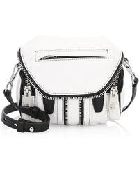 Alexander Wang - Marti Micro Leather Shoulder Bag - Lyst