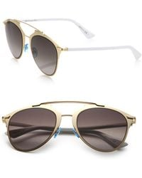 Dior - Reflected 52mm Modified Pantos Sunglasses - Lyst
