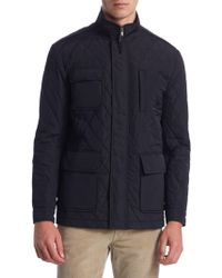 Saks Fifth Avenue | Collection Quilted Car Coat | Lyst