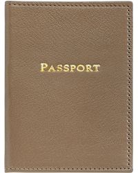 Graphic Image | Leather Passport Cover | Lyst