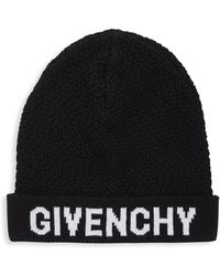 Givenchy - Knitted Wool Toque - Lyst