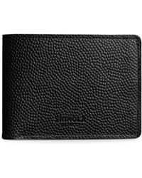 Shinola - Slim Leather Billfold - Lyst