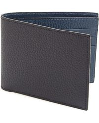 Saks Fifth Avenue - Collection Bi-fold Leather Wallet - Lyst