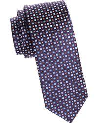Eton of Sweden - Neat Silk Tie - Lyst