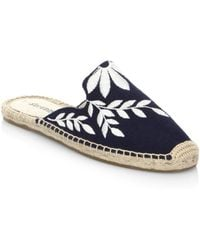 Soludos - Embroidered Floral Mule - Lyst