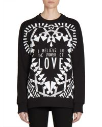 Givenchy - Power Of Love Printed Sweatshirt - Lyst