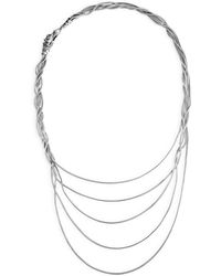 John Hardy - Legends Naga Black & Blue Sapphire Five-row Necklace - Lyst