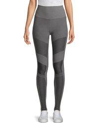Alo Yoga - Textured Moto Leggings - Lyst