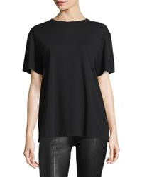 Helmut Lang - Archive Jersey Cotton Tee - Lyst