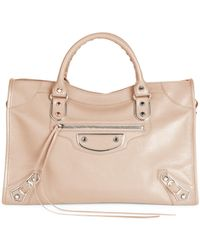 Balenciaga - Carry Over Metal Edge City Small Leather Messenger Bag - Lyst