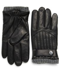 Polo Ralph Lauren - Quilted Leather Racing Gloves - Lyst
