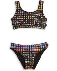 Terez - Little Girl's & Girl's Emoji Sports Bikini Top - Lyst