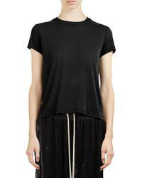 Rick Owens - Jersey T-shirt - Lyst