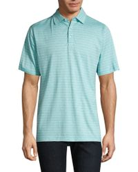 Peter Millar - Crown Striped Polo - Lyst
