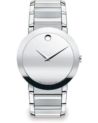 Movado - Sapphire Stainless Steel Watch - Lyst
