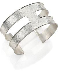 Stephanie Kantis - Expressway Hammered Cuff Bracelet - Lyst