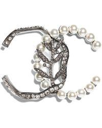 Chanel - Clip-on Earring - Lyst