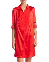 La Perla - Camicia Notte Shirtdress - Lyst